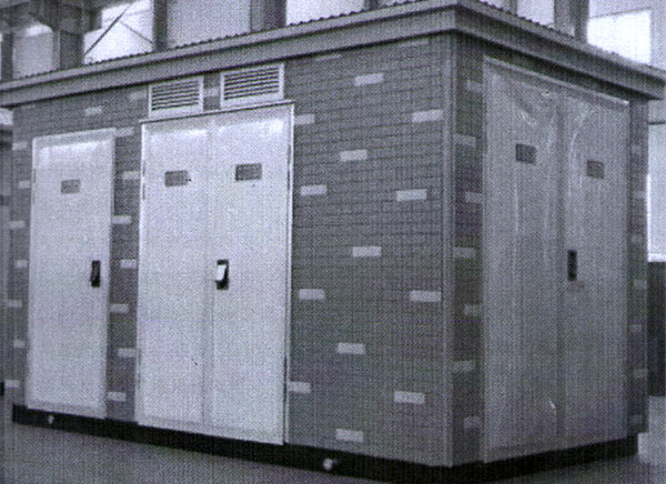 武汉高压-低压预装式变电站YB-12/0.4-800