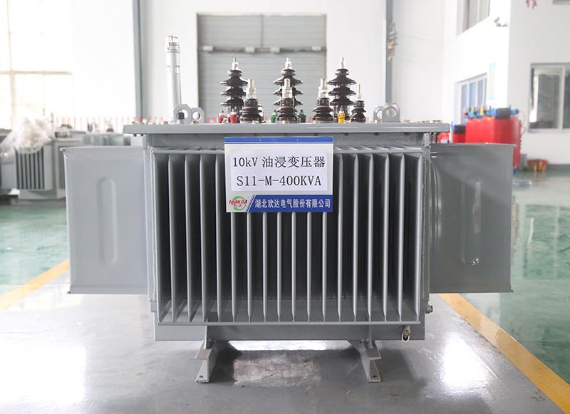 黄冈S11-M-400KVA 油浸变压器