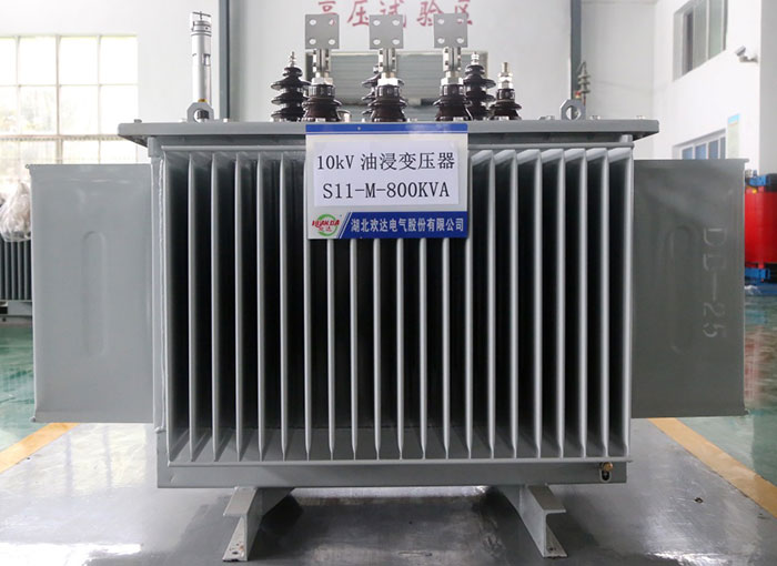 黄冈10kV油浸变压器S11-M-800KVA