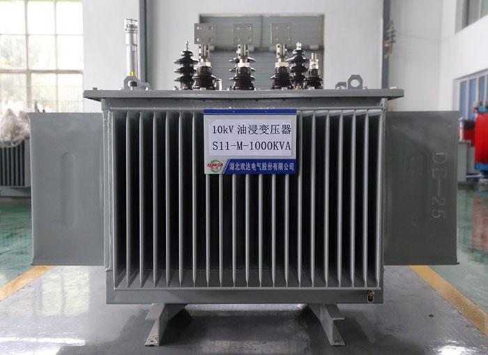 湖北10kV油浸变压器S11-M-1000KVA
