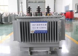贵州S11-M-125KVA 油浸变压器